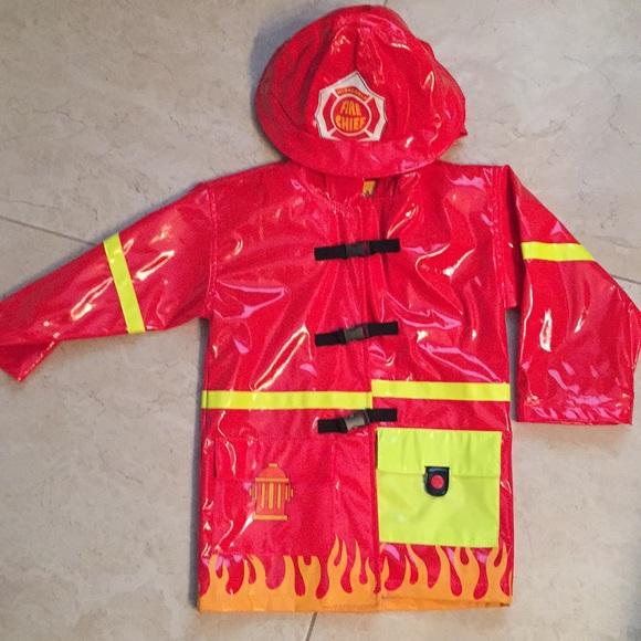 f2bb82546 Kidorable Jackets & Coats | Boys Fireman Raincoat Size 3t | Poshmark
